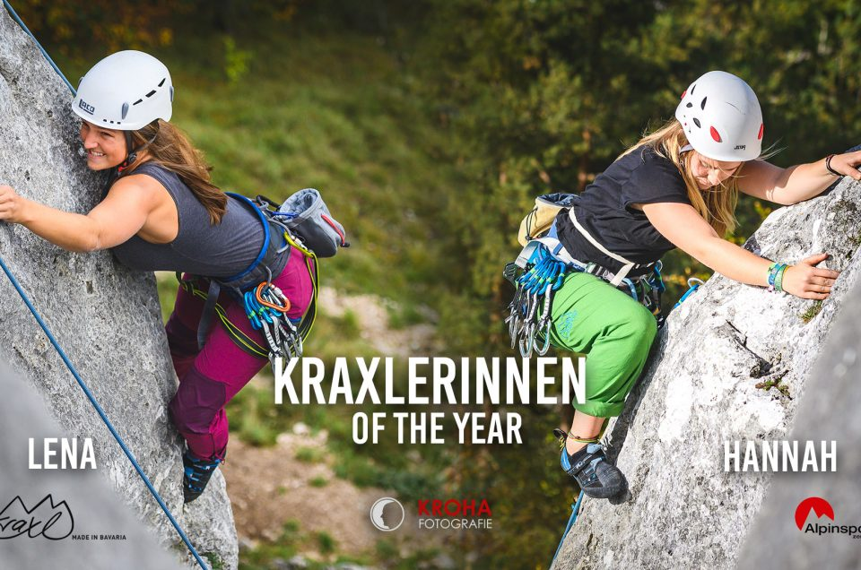 Hannah und Lena sind die Kraxlerinnen of the year