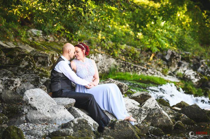 Standesamtliche Hochzeit von Tina & Ivan im Mutterturm in Landsberg am Lech